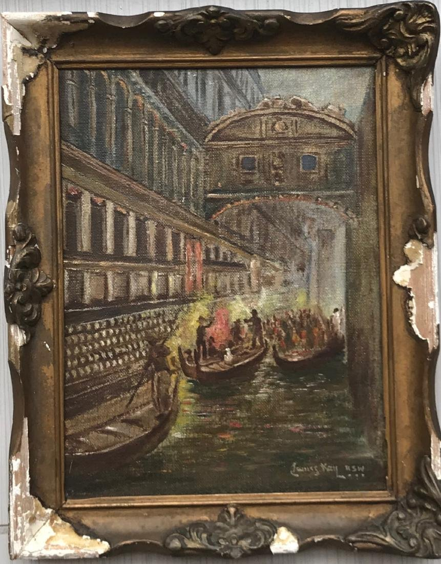 James Kay R.S.W. Oil on canvas on board