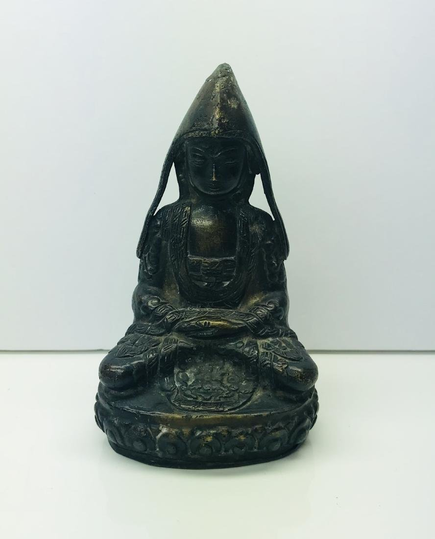 ANTIQUE 19th C. CHINESE or SOUTHEAST ASIAN BRONZE