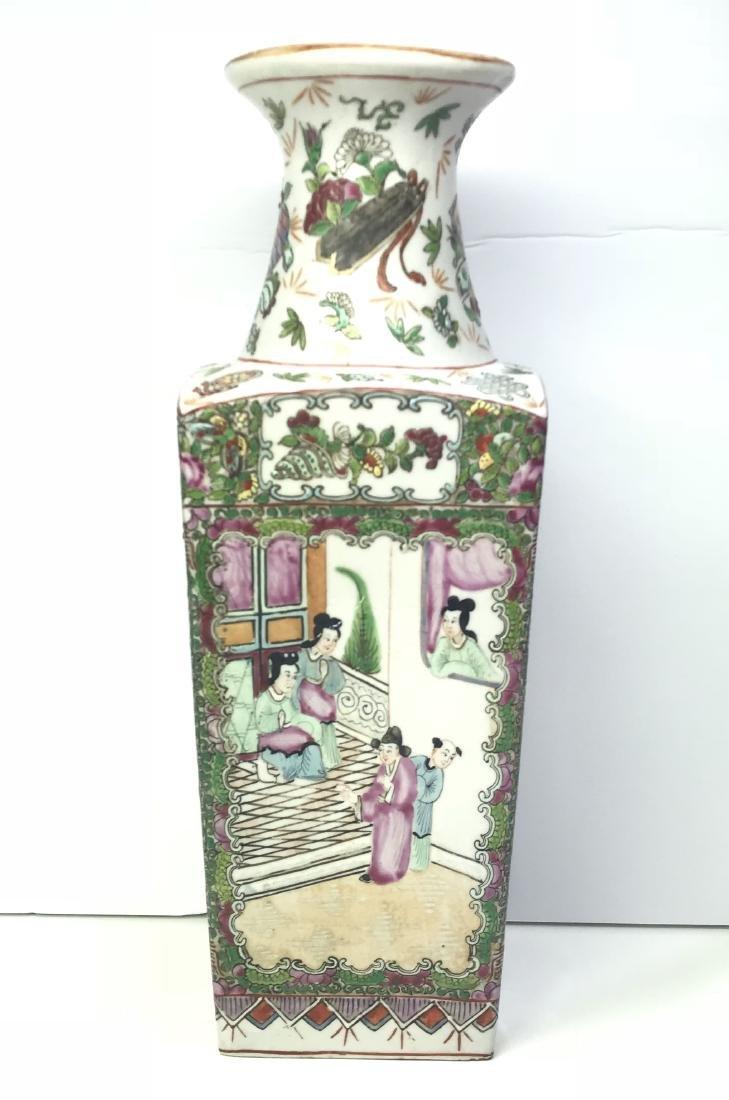 Chinese porcelain vase Qianlong Nian Zhi Early Republic