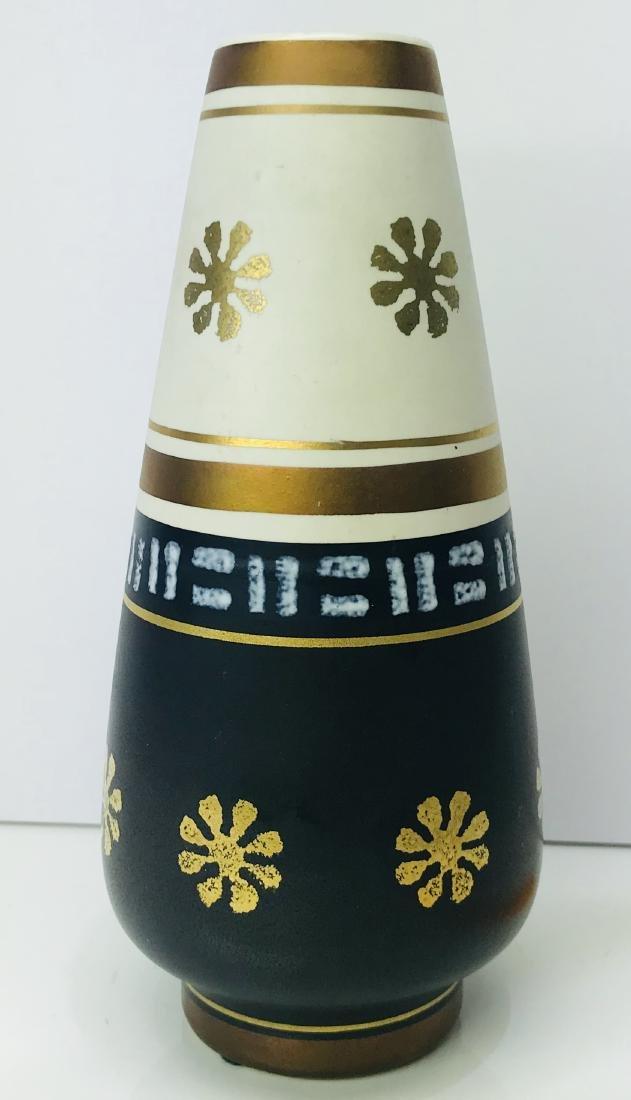 Mid century art deco ceramic vase made in germany