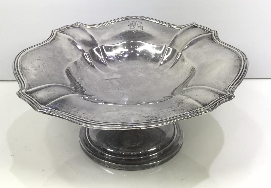 Antique Gorham Chantilly Sterling Silver Compote Dish