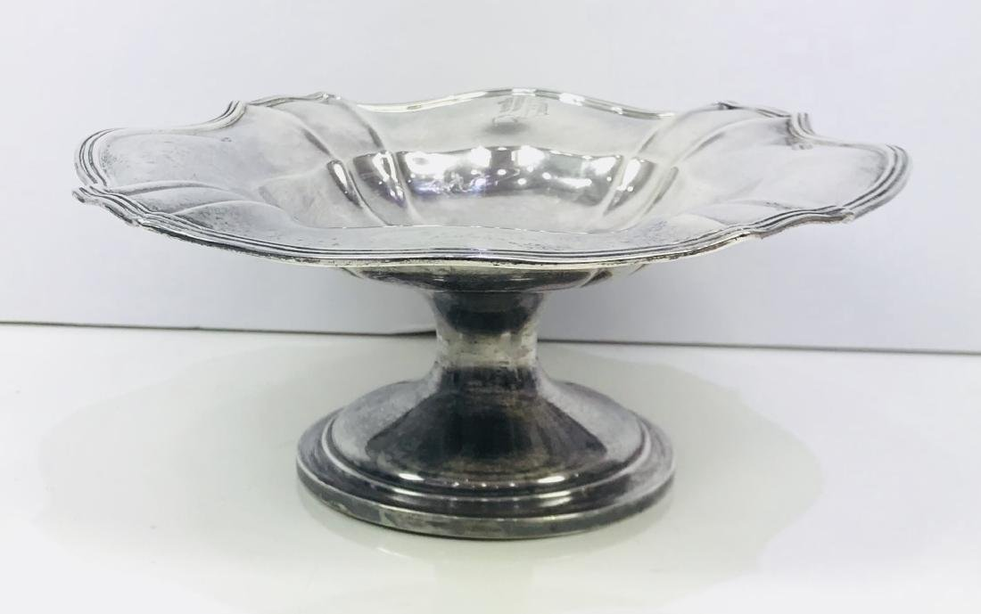 Antique Gorham Chantilly Sterling Silver Compote Dish - 2
