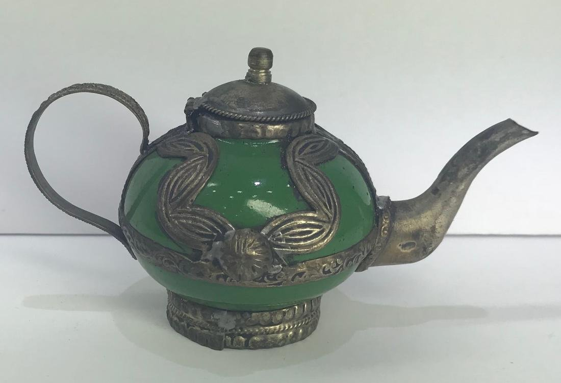 Antique tea pot.