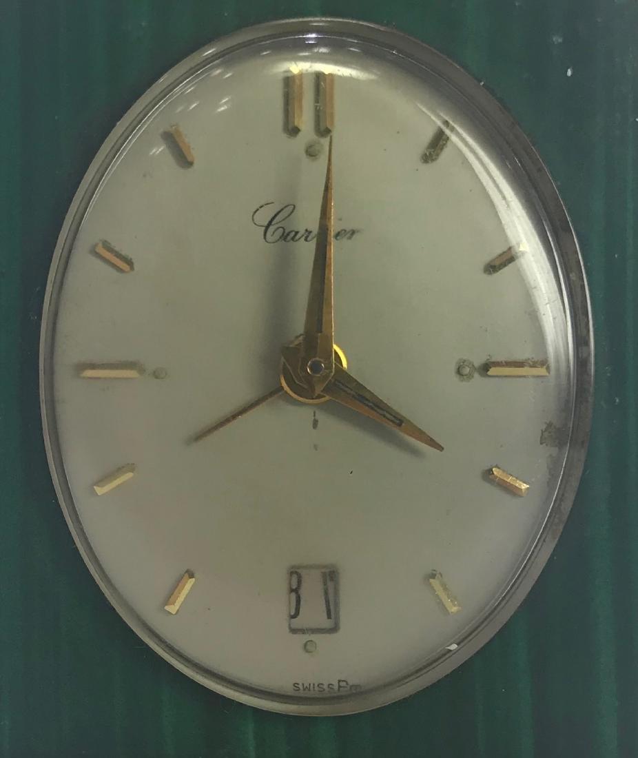 Vintage Cartier desk clock - 2