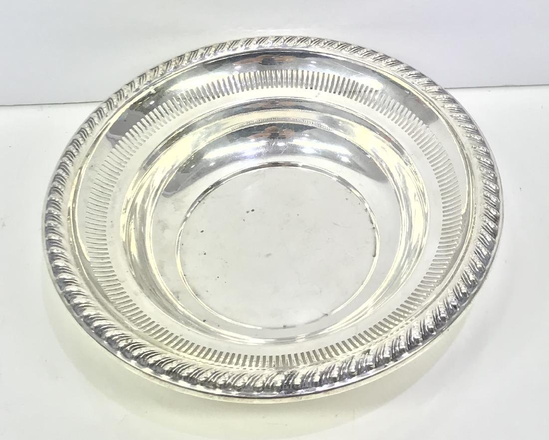 Fine Antique WM Rogers MFG Co. Sterling Silver Bowl