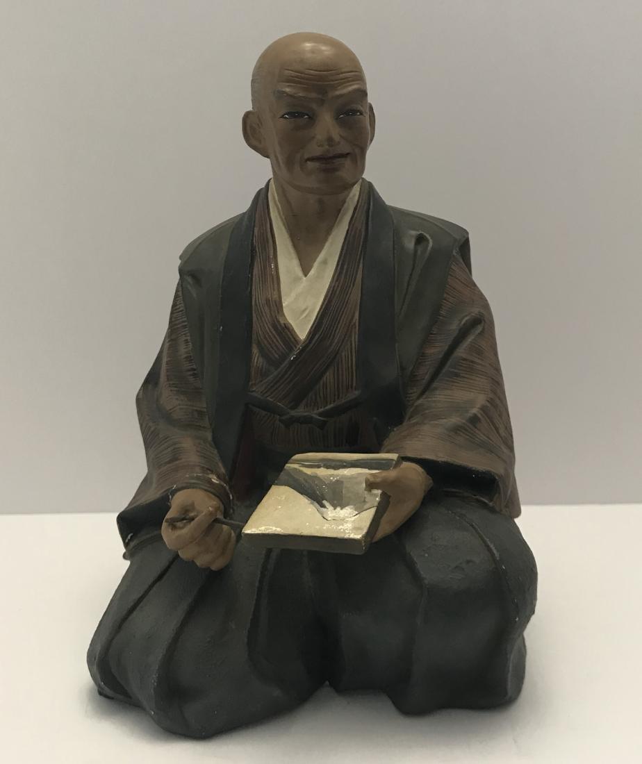 Vintage Japanese Urasaki Hakata Doll Clay Pottery