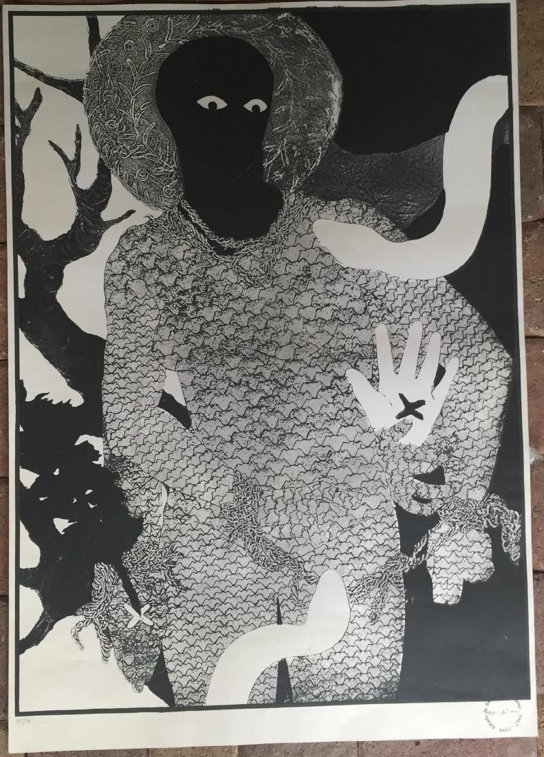 Belkis Ayon (Cuban Art) Lithograph