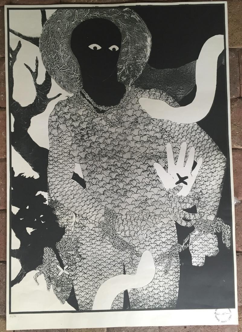 Belkis Ayon (Cuban Art) Lithograph - 2