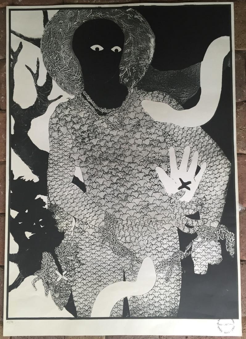 Belkis Ayon (Cuban Art) Lithograph - 3