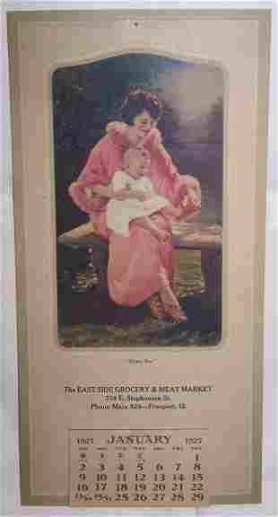 1: 1927 Freeport Calendar