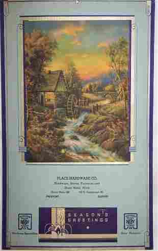5: 1936 Freeport Calendar