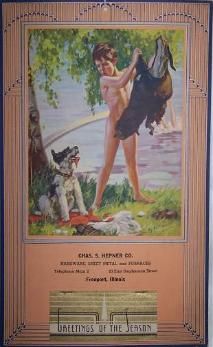 6: 1938 Freeport Calendar
