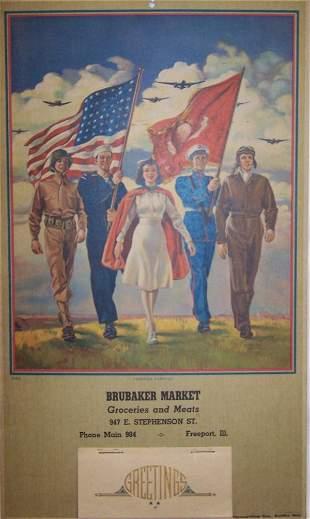 7: 1945 Freeport Calendar