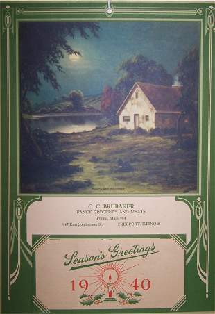 8: 1940 Freeport Calendar