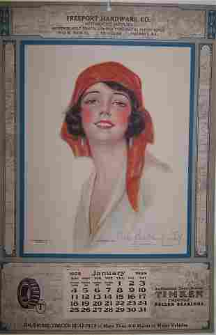9: 1925 Freeport Calendar