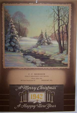 10: 1942 Freeport Calendar