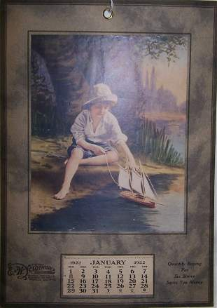 11: 1922 Freeport Calendar