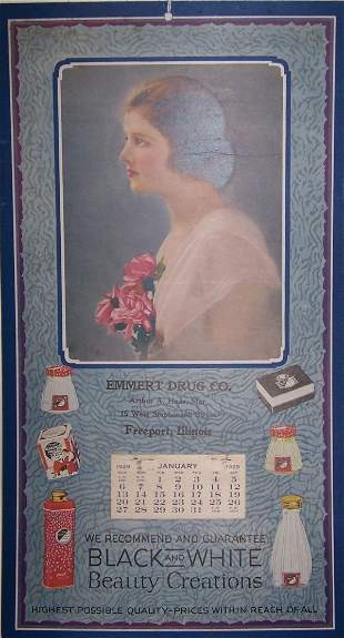 14: 1929 Freeport Calendar