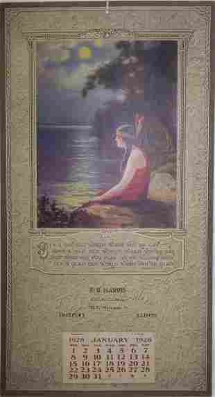 16: 1928 Freeport Calendar