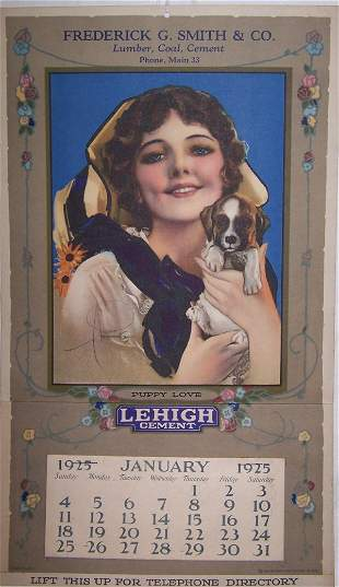 17: 1925 Freeport Calendar