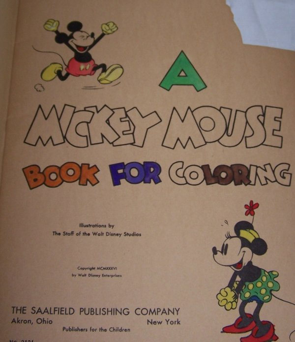 271: Mickey Mouse Coloring Book - 2