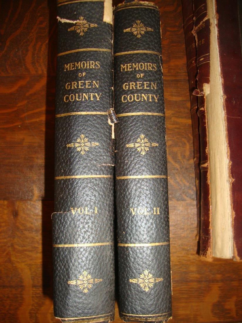 Memories of Green County Vol 1 & Vol 2, 1913