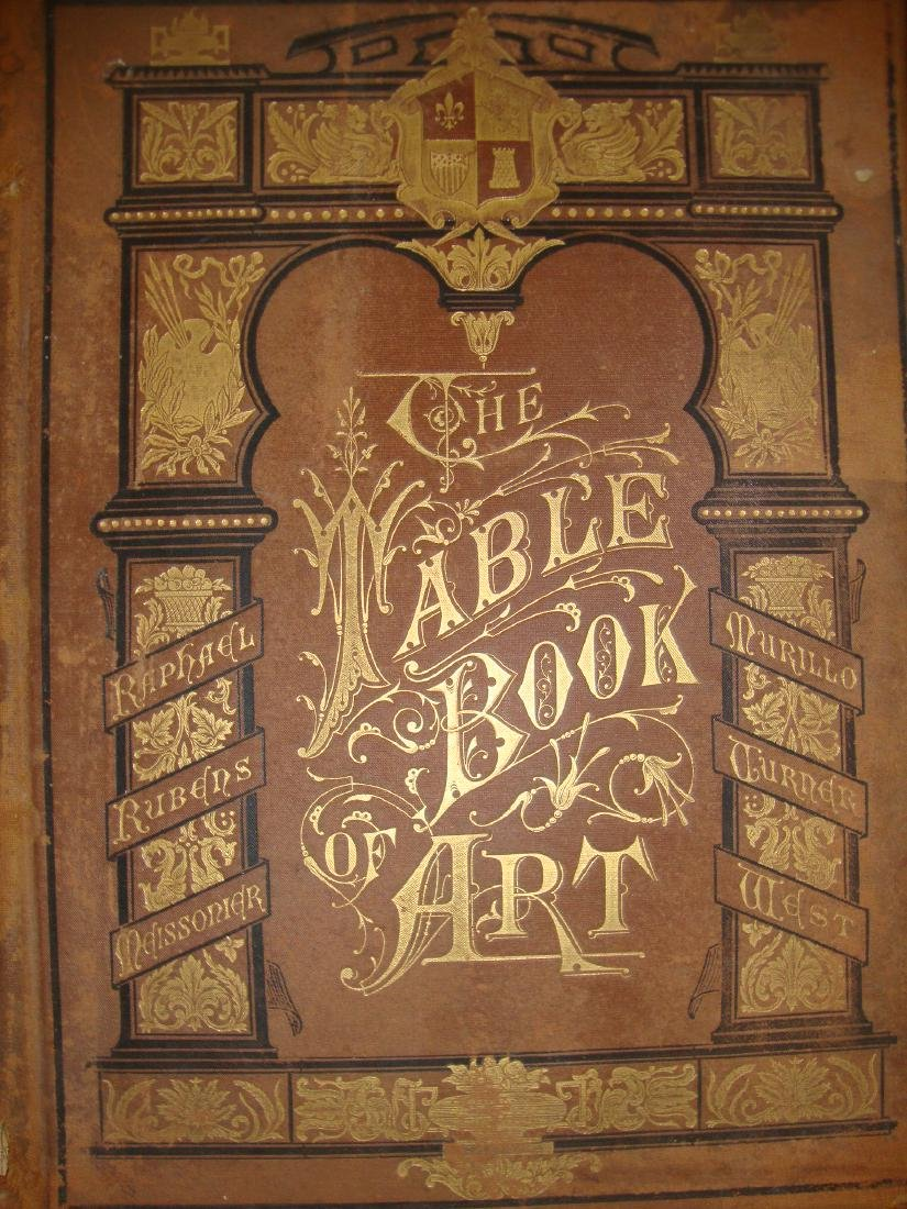 The Table Book of Art 1878 (Brown cover)