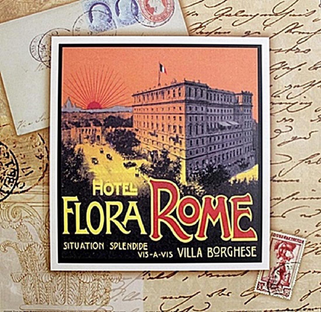 "Fine Art Print ""Flora Rome"" by Tina Higgins"