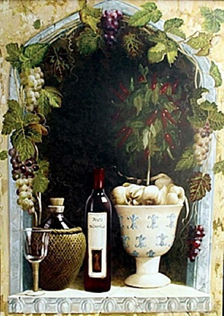 "Fine Art Print ""Olive Oil & Wine Arch I"" by Welby"