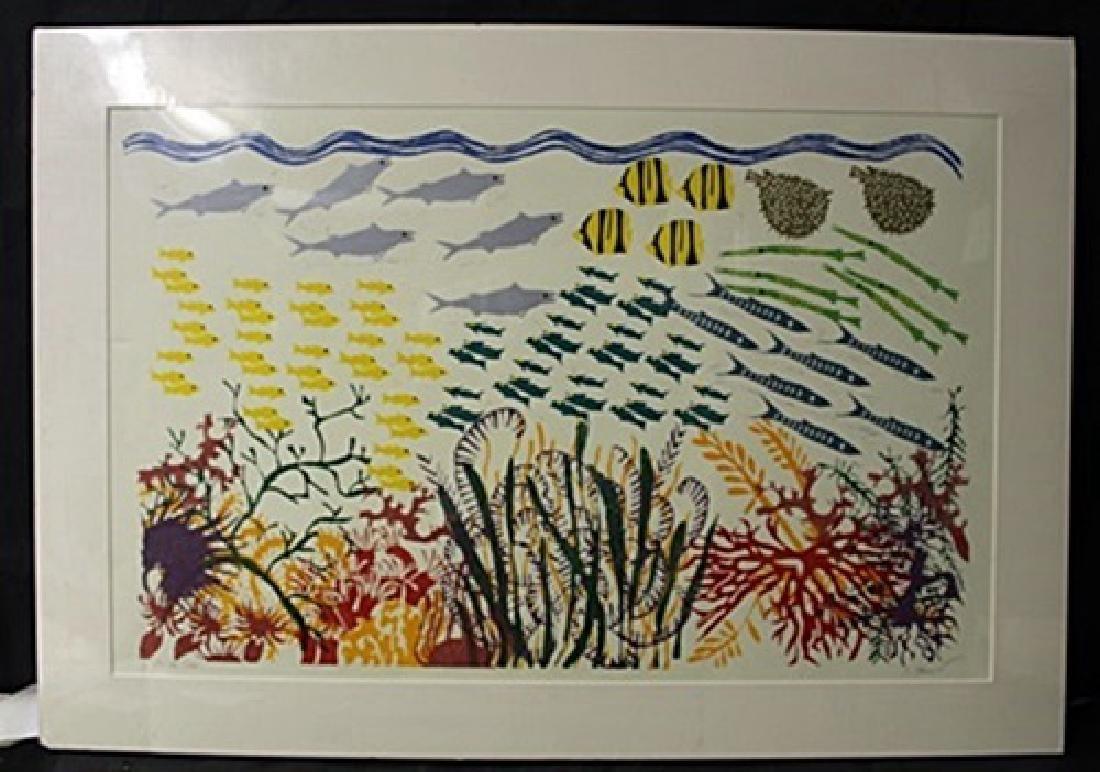 """""""Life At Sea"""" By Carol Zamcheck"""