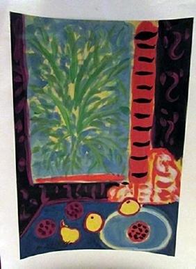 Henri Matisse - The Window Watercolor