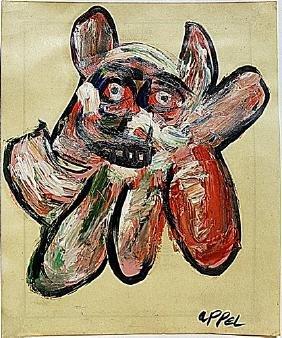 Karel Appel - The Dog