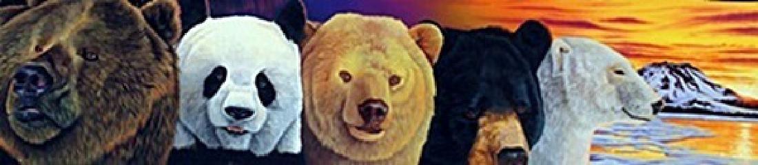 "Assorted Bears"" By Graene Stenemon"