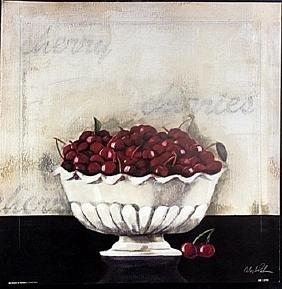 """Fine Art Print """"On Dessert de Cerises"""" by Celeste"""