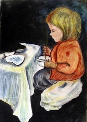 Signed Mary Cassatt