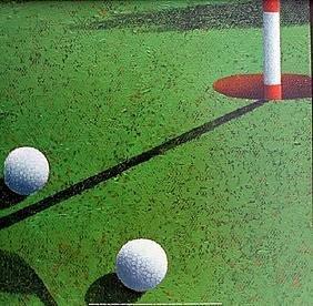 """Fine Art Print """"Golf""""by Bill Romero"""