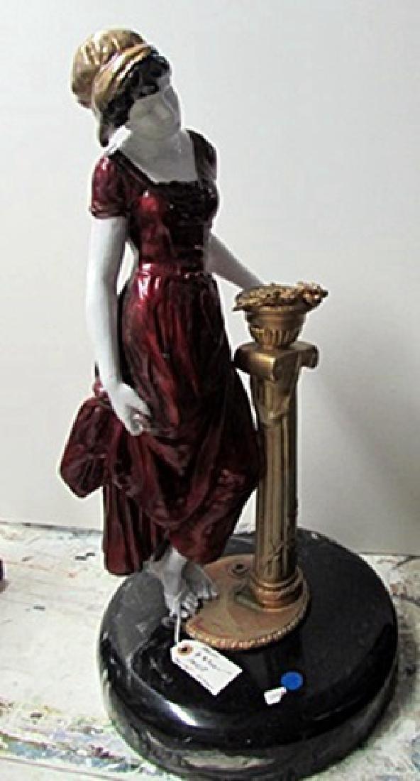 Jacquelyn - Bronze  Sculpture by Preiss