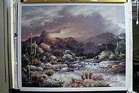 "Fine Art Print ""Sonoran Sunrise"" by James Lee"
