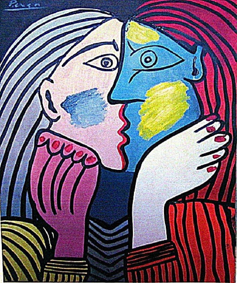 Pablo Picasso - The Lovers 1933 Oil