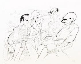 Hand Signed Limited Edition Al Hirschfeld