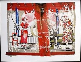 "Fine Art Print ""Clown Trio"" by Rolf Knie"