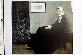 """Fine Art Print """"Portrait of the Artist's Mother"""" by"""