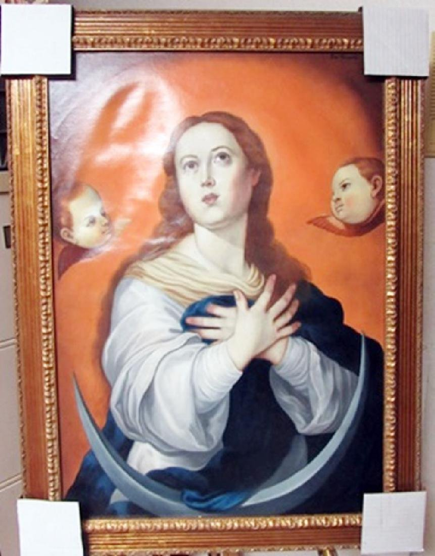Jose Campeche Oil on Canvas