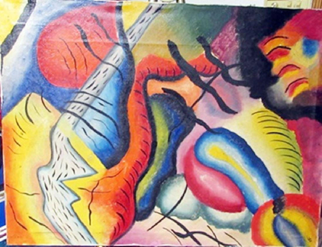 Oil on Canvas Wassily Kankinsky