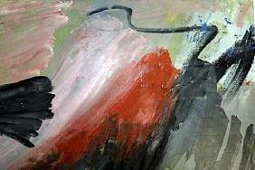 Paesaggio - Afro - Oil On Paper