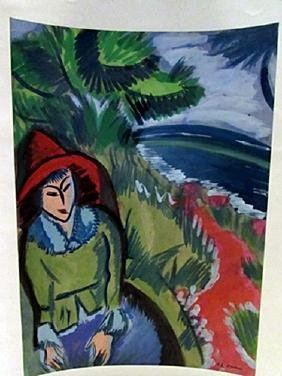 Ernst Ludwig Kirchner - Mr Clara Watercolor