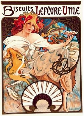 Signed Limited Edition Lithograph Alphonse Mucha