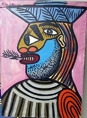 Oil On Canvas Pablo Picasso