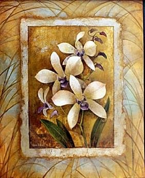 "Fine Art Print ""Illuminated Orchid I"" by Elaine"