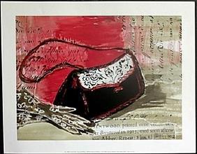 "Fine Art Print ""Purse & Gloves"" by Kimberly Han"